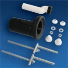 Produktbild: SANIT Wand-WC Etagen-Anschlussgarnitur DN 90