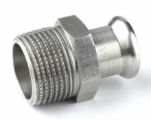 Produktbild: XPress Edelstahl Übergangsn. XPS 243G d 15 x 1/2 AG mit EPDM O-Ring