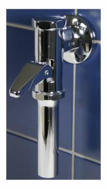 "Produktbild: Urinal-Druckspüler Modell DK 69 DN 15 1/2"" verchromt"