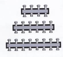 Produktbild: Verteilerbalken Standard für bis zu 3 Heizkreise