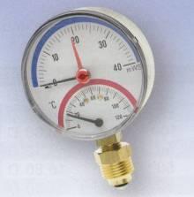 "Produktbild: Thermo-Hydrometer TIAX  40 1/2"" axial"
