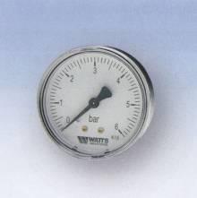 "Produktbild: RF-Manometer 50 axial MDA 50/10 1/4""  0 - 10 bar"