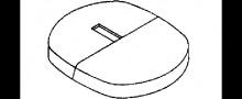 KERMI Blende zu Universalkonsole f/ür Fertigmontage Farbe RAL 9016 wei/ß