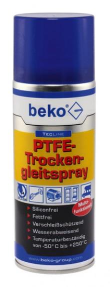 Produktbild: BEKO TecLine PTFE Trockengleitspray 400 ml