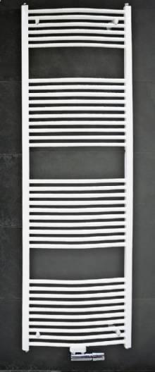 Produktbild: Badheizkörper mit Mittelanschluss gerade 1800mm x 750 mm weiss