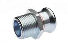 Produktbild: SEPPELFRICKE  XPress C-Stahl Übergangsni. XPC 243 G d 18 x 1/2 AG M-Kontur