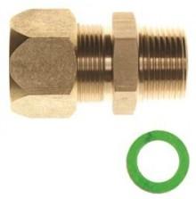 """Produktbild: DuoSolar VA Schnellkupplung f. metall. dichtende Verb. DN 16xAG 1/2"""""""