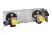 Produktbild: GEBERIT GIS Traverse für Wandarmatur AP 153 mm, mit zwei Wasseranschlüssen