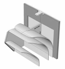 Produktbild: HELIOS Umbauset Ausblas rückseitig  ELS-ARS