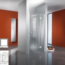 Produktbild: HSK Duschkabine Premium Classic Drehtür Nische, Echtglas, SONDERFARBEN - Breite 80