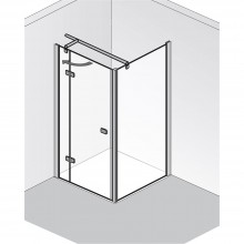 Produktbild: HSK Duschkabine Premium Softcube SEITENWAND (für Drehtür), Echtglas, Chromoptik, Breite 75 x Höhe 200