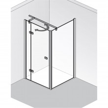 Produktbild: HSK Duschkabine Premium Softcube SEITENWAND (für Drehtür PENDELBAR), Echtglas, Chromoptik, Breite 75 x Höhe 200