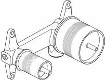 Produktbild: IDEAL STANDARD Rohbauset für Wand-Waschtischarmatur