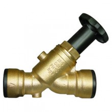 Produktbild: JRG Schrägsitzventil LegioStop m.Steckv  f. E-St.- u.CU-Rohre DN12, 15mm,5225.015