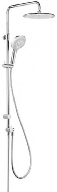Produktbild: KLUD Shower System mit  2S Handbrause schwenkbar, höhenverstellbar, chrom Abverkauf