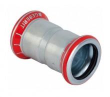 Produktbild: MAPRESS C-Stahl Muffe 15 mm, verzinkt