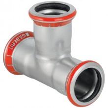 Produktbild: MAPRESS C-Stahl T-Stück 15 mm, verzinkt