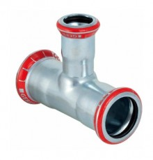 Produktbild: MAPRESS C-Stahl T-Stück reduziert 15 x 18 x 15 mm, verzinkt