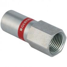 """Produktbild: MAPRESS C-Stahl Übergang mit IG 15 mm x 1/2"""" IG, mit Einschubende, verz."""