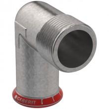 """Produktbild: MAPRESS C-Stahl Übergangswinkel 90° 15 mm x 1/2"""" AG, verzinkt"""