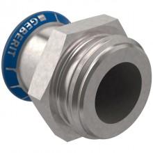 "Produktbild: MAPRESS Edelstahl Übergang mit AG 15 mm x 3/4"""