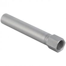 "Produktbild: GEBERIT MAPRESS Edelstahl Übergang mit IG, lang 18 mm x 1/2"" IG, mit Einschubende lang"
