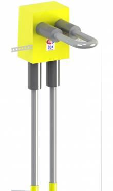 Produktbild: MHS Ventilheizkörperboxen V-HKS2340 Roth RIS 17 mm