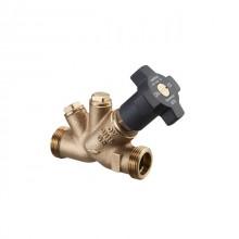 Produktbild: OVENTROP Aquastrom Freistromventil AG DN 15, Rotguss, ohne Entleerung