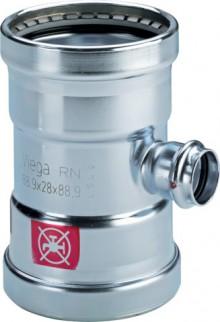 Produktbild: Viega PRESTABO XL-T-Stück 1118XL 64x28x64 mm
