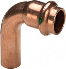 Produktbild: Viega PROFIPRESS Bogen 90°IA, Kupfer 2416.1 15 mm mit SC-Contur