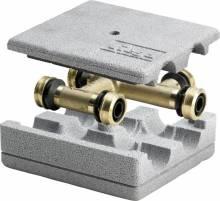 Produktbild: RAXOFIX Kreuzungs-T-Stück 5349 16 x 16 x 16 mm, Messing