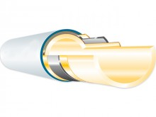Produktbild: ROTH Alu-Laserplus Systemrohr, Rolle   14 mm, Rolle: 100 Meter