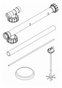 Produktbild: ROTH Füllsystem Füllstar 6 Erweiterung Block B 840 mm, für KWT-C 750