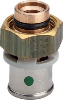 Produktbild: Viega SANFIX P Anschlussverschraubung 2119 D 16 mm, für Verteiler