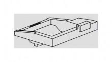 Produktbild: SANIT Niederhalter für UP-Spülkasten für  großer oder mittlerer Revisionsöffnung