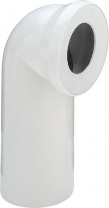 Produktbild: SANIT WC-Anschlussbogen 90° DN 100  weiß # 58103010099