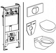 Produktbild: SANIT WC-Pack INEO PLUS  Komplettpaket Abverkauf