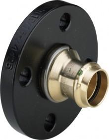Produktbild: SANPRESS Flanschübergang Nr 2259.5 28, Stahl schwarz beschichtet, drehbar