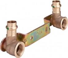 "Produktbild: SANPRESS Montageeinheit gekröpft 2222 15 mm x 1/2"", SM 150 mm"