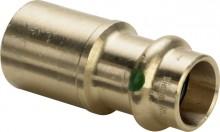 Produktbild: SANPRESS Reduzierstück Rotguss 2215.1 15 x 12 mm