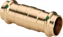 Produktbild: SANPRESS Schiebemuffe Rotguss 2215.5 15 mm