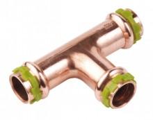 Produktbild: SudoPress-Kupfer T-Stück reduziert VC130R 15x18x15 mm (V-Kontur)
