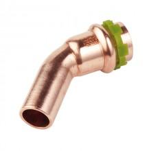 Produktbild: SudoPress Kupfer Bogen 45° VC040 15 mm I/A (V-Kontur)