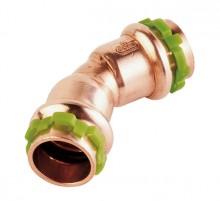 Produktbild: SudoPress Kupfer Bogen 45° VC041 15 mm I/I (V-Kontur)