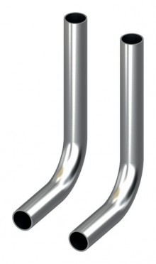 Produktbild: TECEflex SLHK-Bogen 90 Grad, vernickelt 15 mm, per Set (2 Stück)