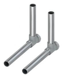 Produktbild: TECEflex SLHK-Winkelabsperrung 15 mm vernickelt, per Set (2 Stück)