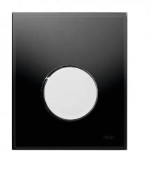 Produktbild: TECEloop Glas Urinal-Betätigungsplatte Glas schw. Taste chrom glanz