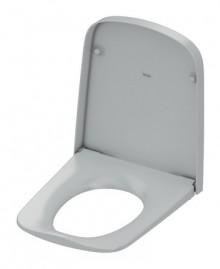 Produktbild: TECEone WC-Sitz softclose, Metallscharnier chrom, weiß