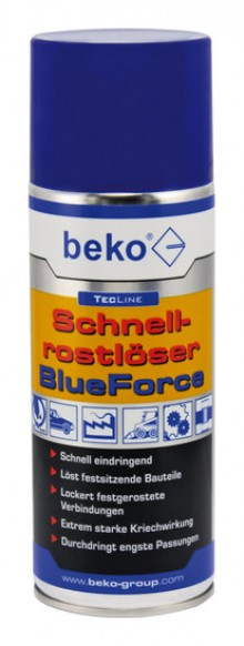 Produktbild: TecLine Schnellrostlöser BlueForce 400 ml