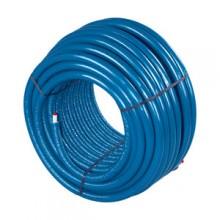 Produktbild: Uponor Uni Pipe PLUS weiß vorisoliert  S6 WLS 035 16x2,0 blue 75m